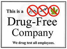 We area drug free workplace