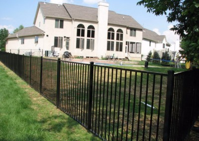 02-Aluminum fence in Pickerington