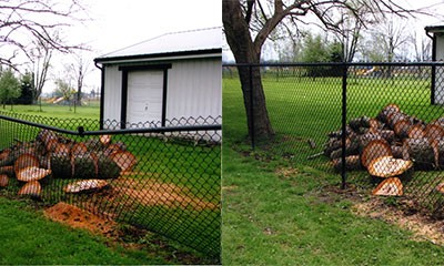 02-Commercial chainlink fence in Pickerington