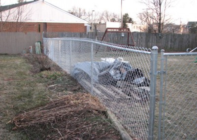03-Residential chainlink fence in Pickerington