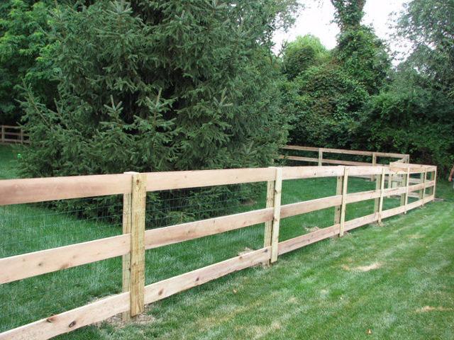 04-Split rail fence in Groveport