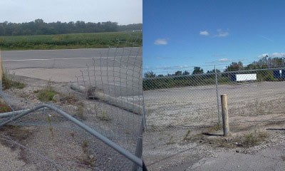 03-Commercial chainlink fence in Columbus