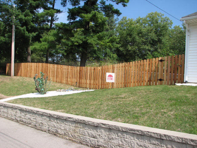 05-Privacy fence with gate in Pickerington