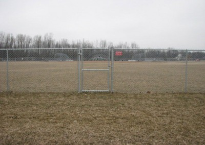 06-Commercial chainlink fence in Groveport