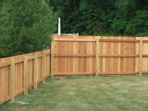 4 ft and 6 ft privacy fence